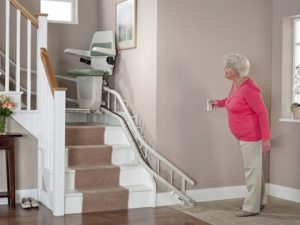 stannah 260 curved stairlift installation